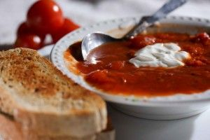 Болгарский томатный суп