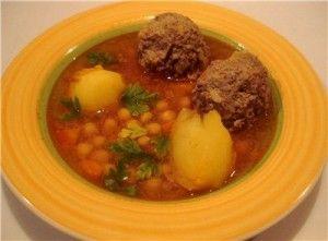 Армянский суп с клецками «Кюфта»