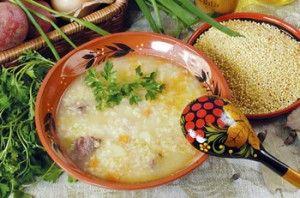 Традиционный рецепт супа полевого