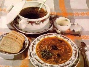 Грибной суп с соевым соусом