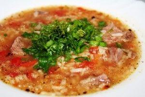 Суп харчо вегетарианский