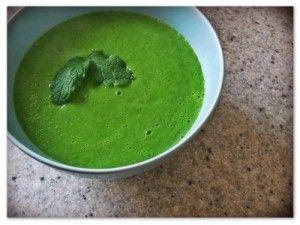 Гороховый суп в микроволновке