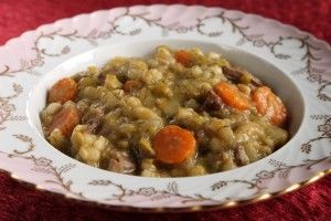 Рецепт горохового супа с говядиной