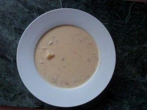 Быстрый и легкий суп на сметане