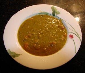 Гороховый суп с консервами