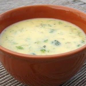 Легкий сырный суп