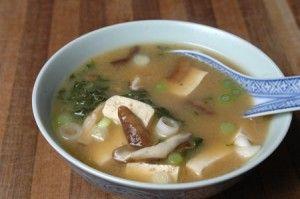 Мисо суп с шиитаке
