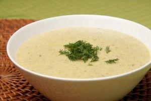 Суп пюре легкий