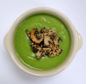 суп пюре из брокколи замороженной рецепт