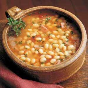 Фасолевый суп из консервов