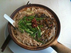 Суп из сушеных лисичек и капусты