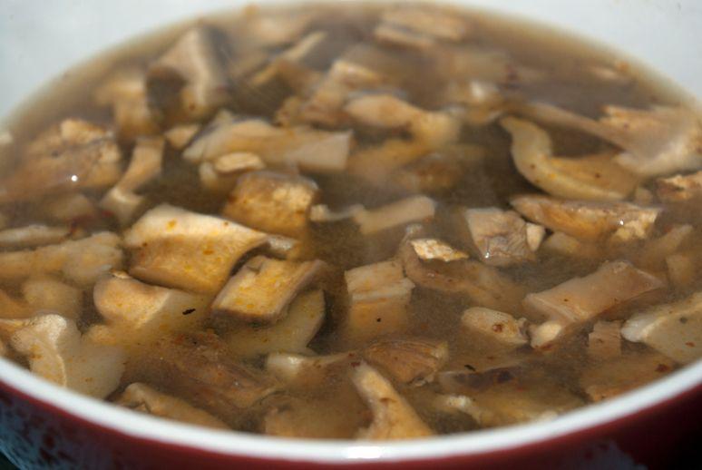 Грибной суп из вешенок рецепты