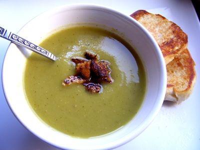 Прозрачный гороховый суп рецепт