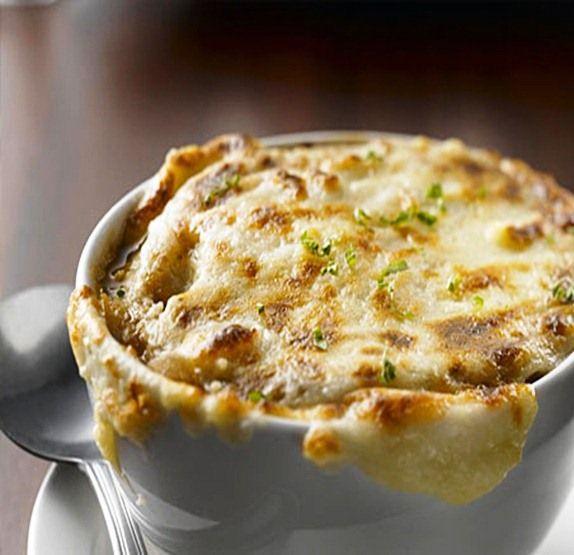 луковый крем суп рецепт с фото
