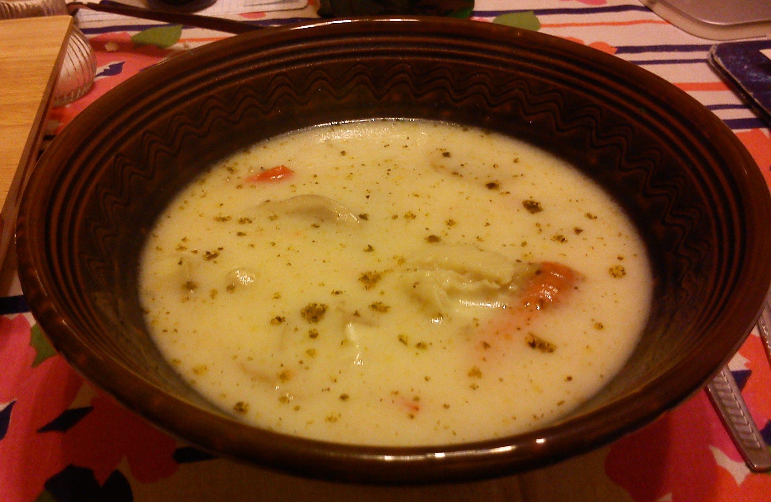 рецепты супа со сметаной