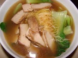 Суп из свинины с вермишелью