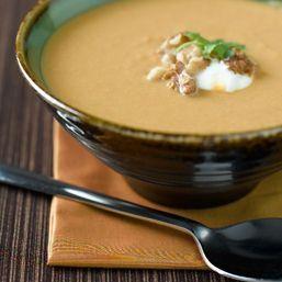 Суп с грецкими орехами.