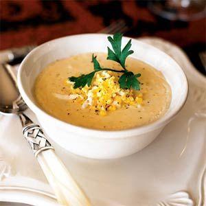 ароматный крабовый суп с бренди