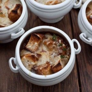 Французский суп с грибами