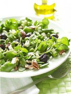 Салат «нежный» с черносливом