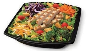 Салат солнышко с чипсами