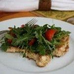Салат с руколой и курицей