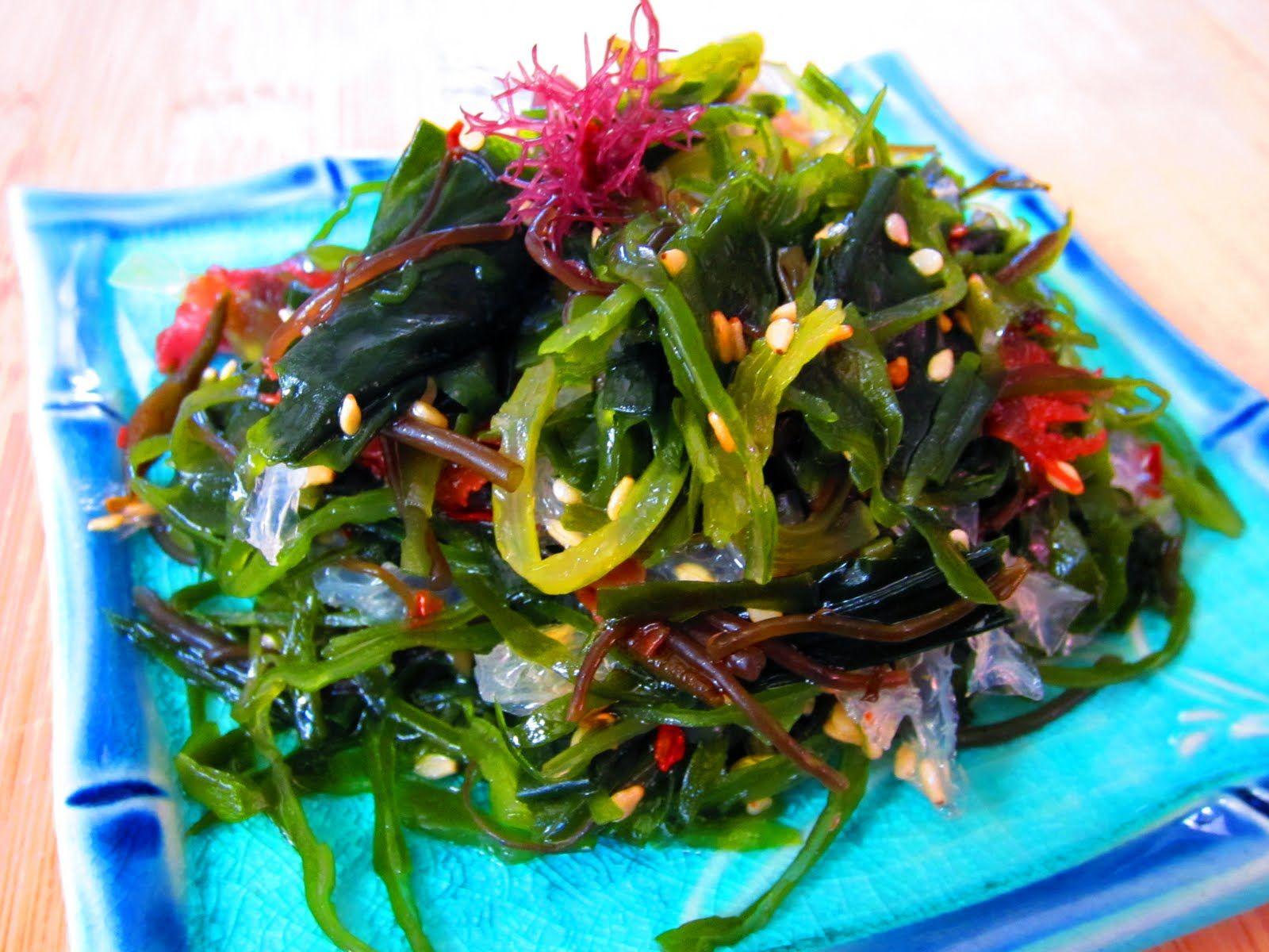 Салаты из морской капусты диетические рецепты с