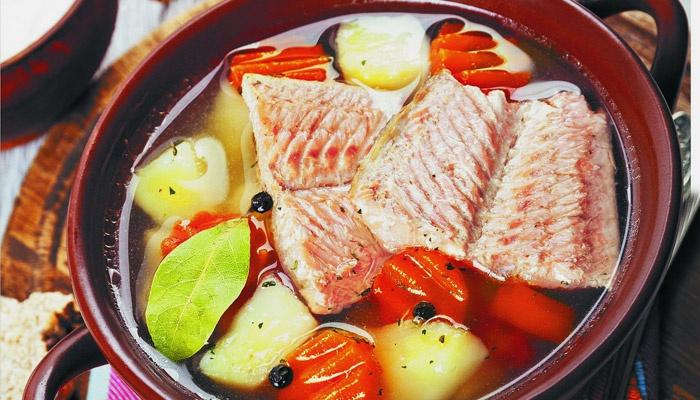 Суп из лосося - вкусно, полезно, доступно