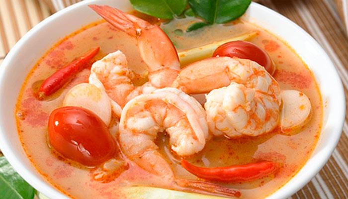 Суп с креветками - идеальное сочетание вкуса и пользы!