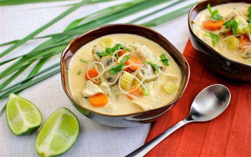 Познай райское удовольствие. Кокосовое молоко, как ингредиент супа