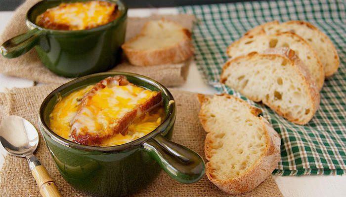 Луковый суп, рецепт с французским шармом