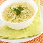 Суп из гусиных потрохов с грибами