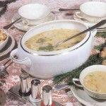 Говяжий суп с лапшой