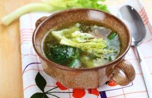 Овощной низкокалорийный суп