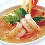 Тайский суп из кальмаров
