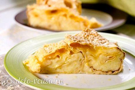 Ачма с сыром рецепт с фото пошагово в духовке Каждая часть тонко раскатывается, при