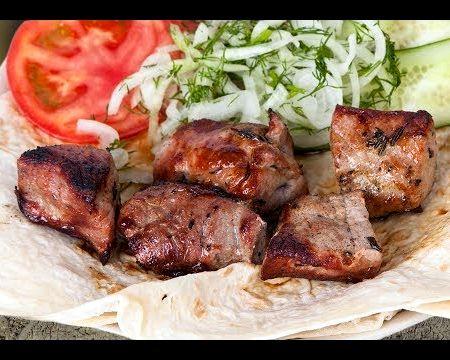Армянский шашлык из свинины рецепт видео имея при этом