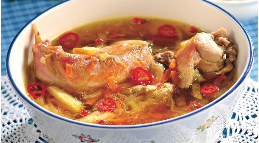 Кролик - отличное мясо для супа