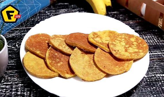 Банановые панкейки рецепт с фото пошагово