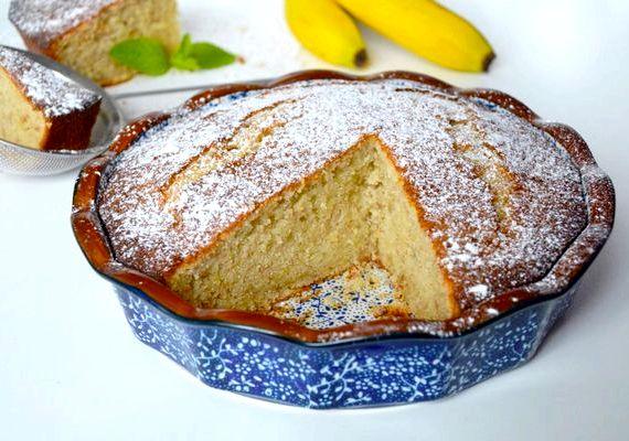 Банановый пирог в духовке рецепт с фото