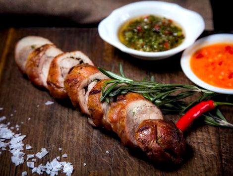 Блюдо из индейки рецепт с фото Зажарку расположить внутри получившегося кармана