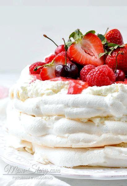 Десерт павлова классический рецепт с фото пошагово