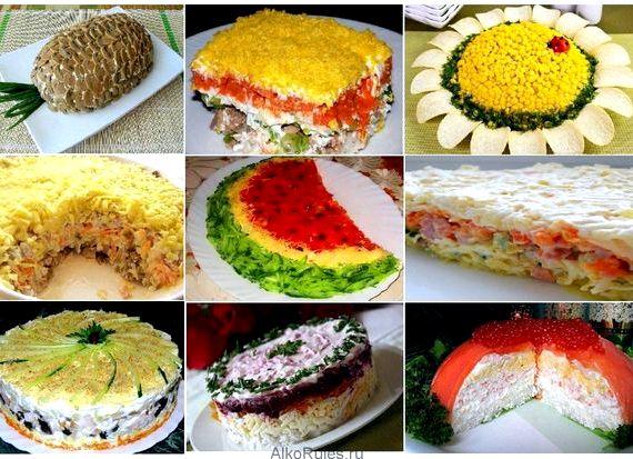 речь идет рецепты приготовления салатов на юбилей фото человеку просто
