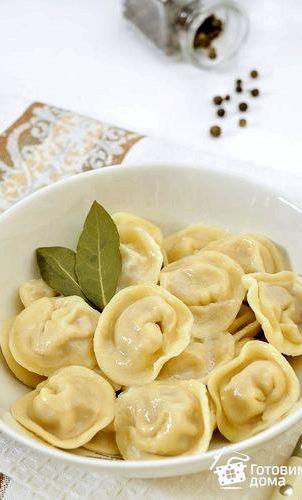 Домашние пельмени пошаговый рецепт с фото вручную Кружочки для пельменей вырезайте подходящего
