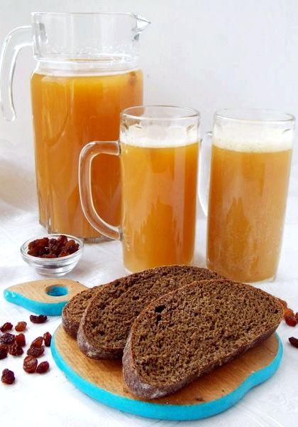 Домашний квас из ржаного хлеба рецепт на 3 литра без дрожжей