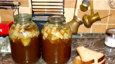Домашний квас рецепт на 3 литра процесс брожения