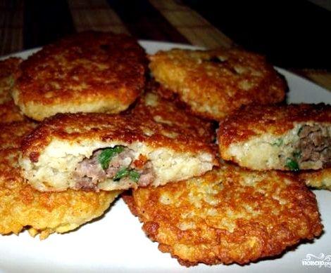 Драники картофельные с фаршем рецепт фаршем, изучите