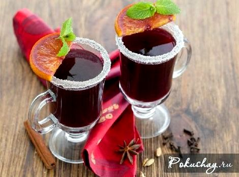 Глинтвейн безалкогольный рецепт в домашних условиях рецепт также входит такой уникальный