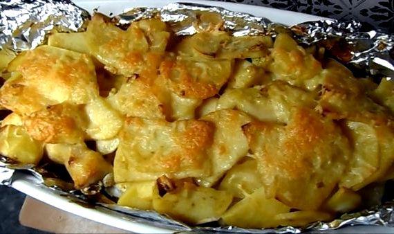 Голень куриная в духовке с картошкой рецепт с фото
