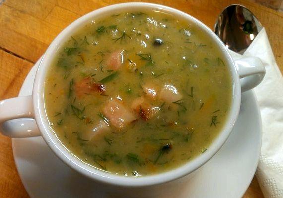 рецепт настоящего горохового супа